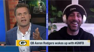 "Aaron Rodgers on Leaving Football for Jeopardy ""There is Something about Leaving at the Height"""