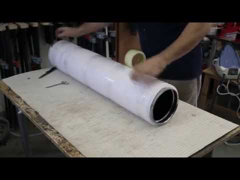 Building a steam bending box