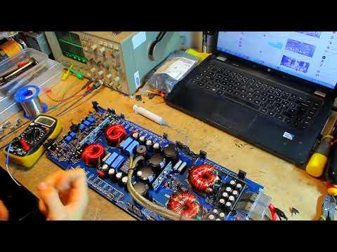 Hifonics BXI2608D repair Part 2 - Output and bench test