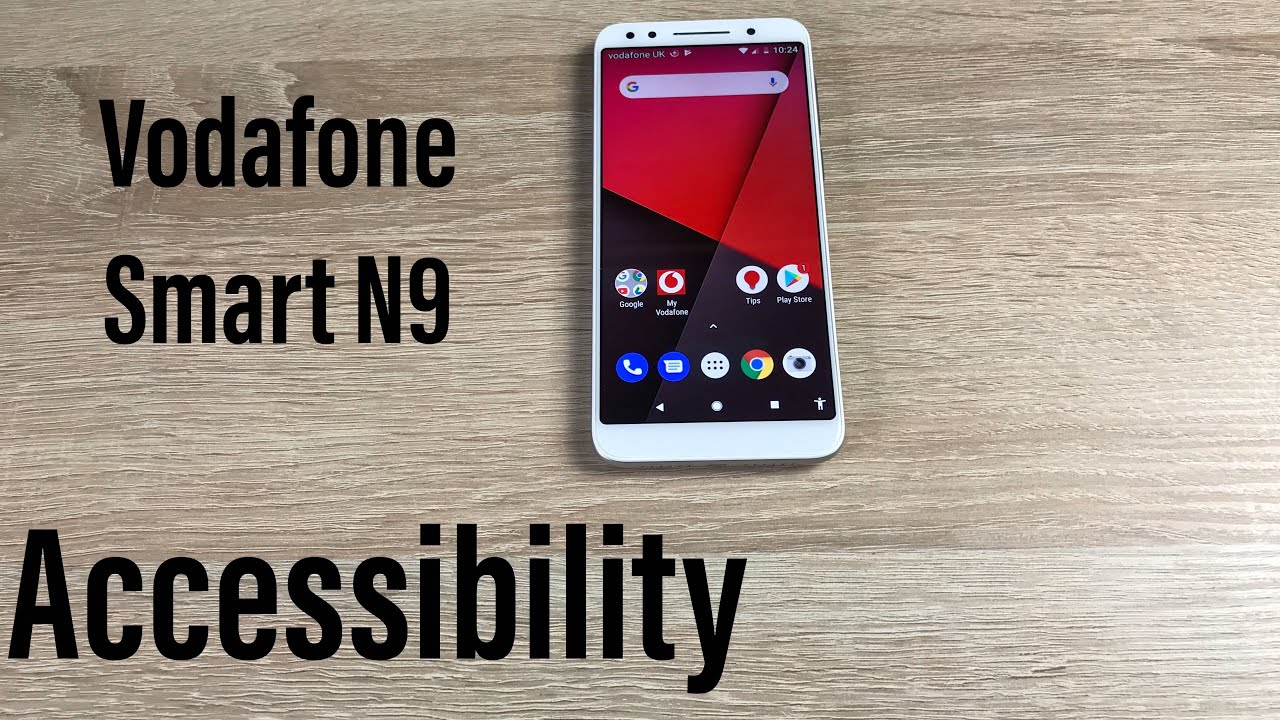Vodafone Smart N9 Accessibility Settings