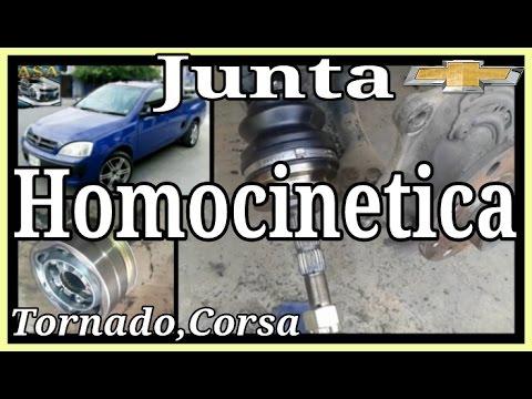 Junta homocinetica chevrolet tornado corsa youtube for Como cambiar un empaque de regadera