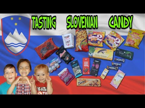 Tasting Slovenian Candy