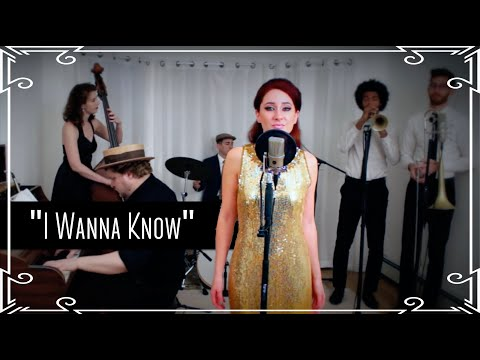 """I Wanna Know"" (Joe) - Motown Cover by Robyn Adele Anderson"