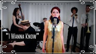 """""""I Wanna Know"""" (Joe) - Motown Cover by Robyn Adele Anderson"""