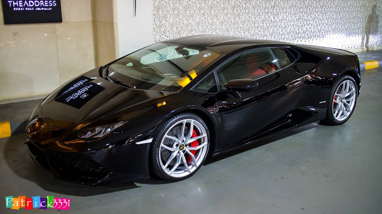 all black lamborghini huracan lp610 4 youtube. Black Bedroom Furniture Sets. Home Design Ideas