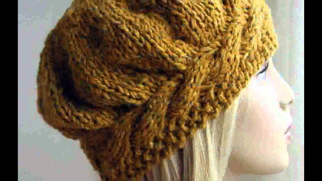 Knitted Hat Pattern Free Design Nice - YouTube
