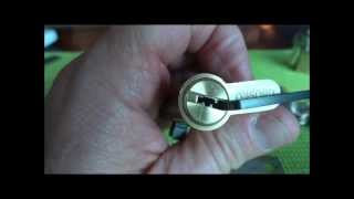 (278) Oxford Dimple Cylinder Picked Open