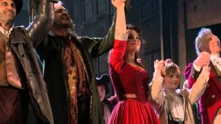 "Les Misérables - Featurette: ""OTS: Samantha Barks wins role of Eponine"""