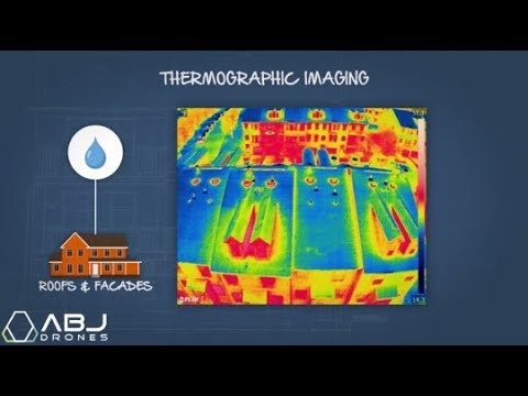 Drone Building and Roof Inspection Services: Thermal Imaging