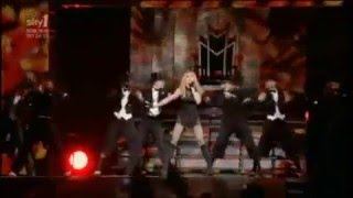 Madonna Intro/Candy Shop Sticky & Sweet Tour SKY 1 HQ