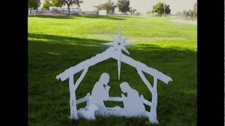 Outdoor Nativity Set Assembly Video