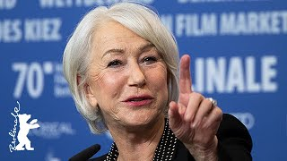 Helen Mirren has a special way to read scripts... | Berlinale 2020