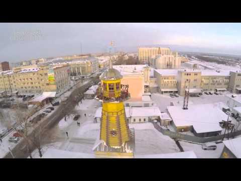 Kurgan city.Air super video!Russia.2015