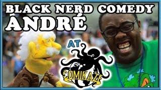 Comikaze  Black nerd Comedy Daily Puppet