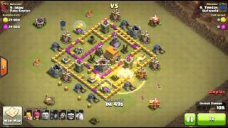 Why troop deployment is key in Clash of Clans max TH6 WAR
