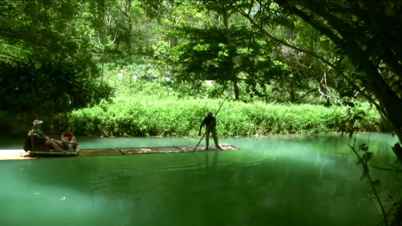 Bamboo Rafting On The Martha Brae River Youtube