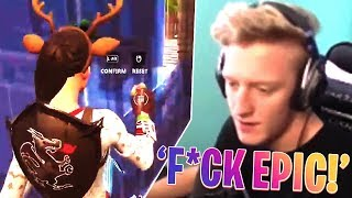 FAZE TFUE GETS BANNED FOR TELEPORTING THROUGH WALLS! (Fortnite Battle Royale Funny Moments)