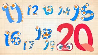 Endless Numbers - Learn to Count from 11 to 20 & Simple Addition With the Adorable Endless Monsters