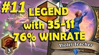 Token Druid Mirror Match #11 (76% winrate)