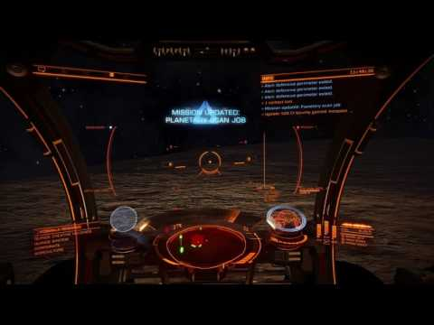 Elite Dangerous - Episode 11: Planetary Scan Missions in Quince