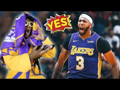 LAKERS FAN REACTS TO ANTHONY DAVIS REQUESTING TRADE! WHO SHOULD WE TRADE?