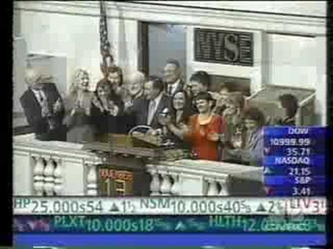 Ring the New York Stock Exchange closing bell, Joe Palma