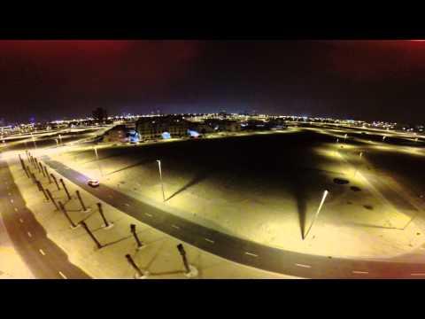 (DUBAI) JUMEIRAH VILLAGE CIRCLE PARK AERIAL VIEW