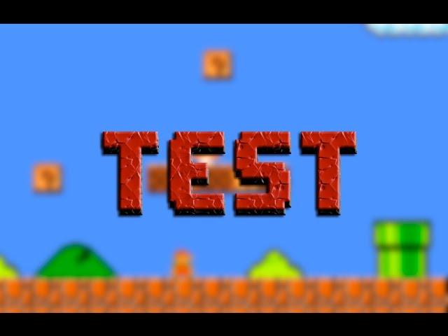 Тест анимации
