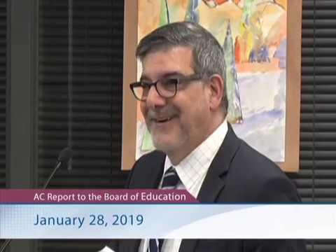 Allen Creek Elementary School Report - January 28, 2019