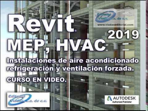 Revit MEP 2019 HVAC | Instalaciones Mecánicas y Aire Acondicionado