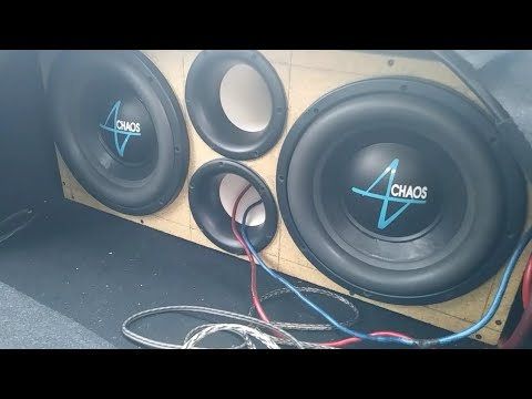 Kia Bass Part 1 / Prototype Box Build #1😯( Sub's Forward Ports Forward!?! )