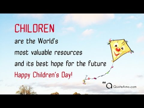 it is good for children to