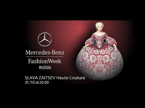 Mercedes-Benz Fashion Week Russia: SLAVA ZAITSEV Haute Couture