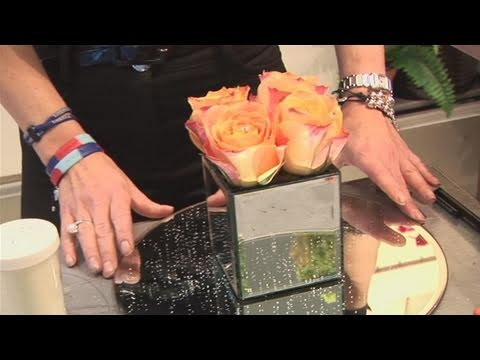 How To Make A Square Of Wedding Roses Youtube