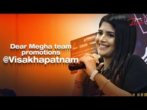 Dear Megha Team Promotions @ Vijayawada | Adith Arun, Megha Akash | VEDAANSH CREATIVE WORKS