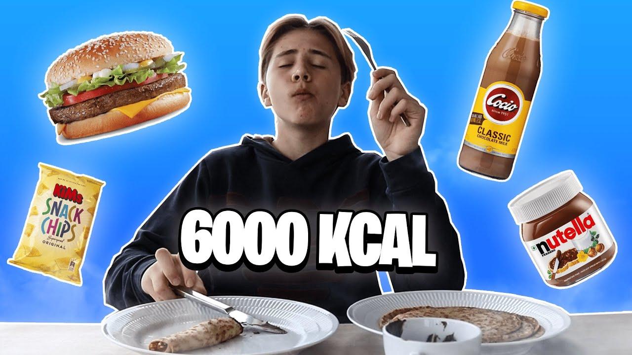 6000 KALORIE CHALLENGE! - YouTube