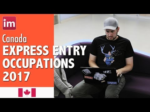 Skilled Immigration Canada - Eligible Occupations List Express Entry 2017