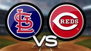 8/4/13: Cardinals score 15 runs to back Lynn's gem