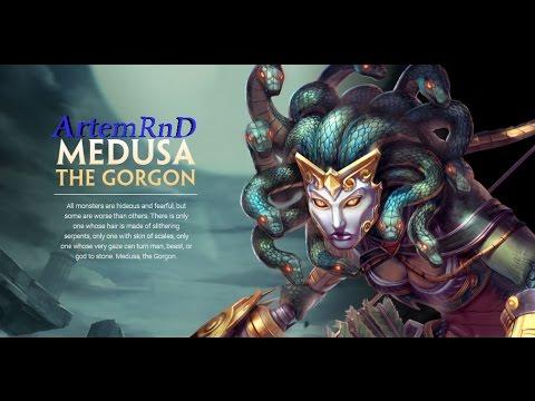 видео: smite гайд о боге medusa (Медуза)
