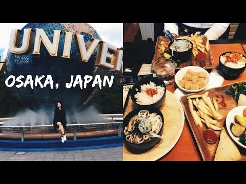 TRIP TO UNIVERSAL STUDIOS, JAPAN | WHAT I EAT & TRAVELING AS A VEGAN