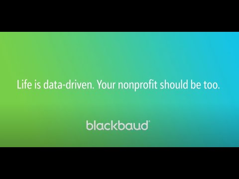 In a Flash: Blackbaud Analytics