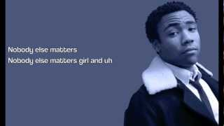 Childish Gambino - L.E.S. (Lyrics on Screen)