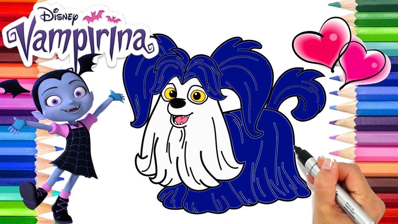 Disney Vampirina Coloring Page Disney Vampirina And