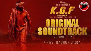 KGF Chapter 1 - BGM (Original Soundtrack)   Vol 2   Yash   Ravi Basrur  Prashanth Neel Hombale Films