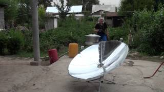 SPARE Kyrgyzstan | Solar oven - Reliable friend and helper!