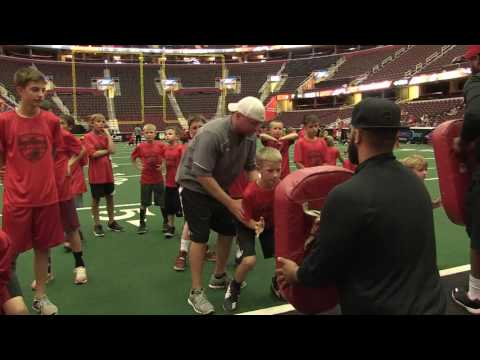 Gladiators Youth Academy Features Day At Quicken Loans Arena