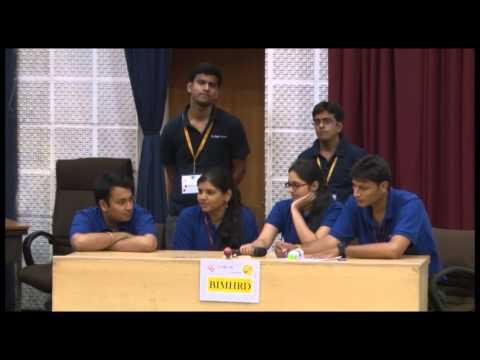 Business Quiz Competition in Drishti 2k15 at Sri Balaji Society.