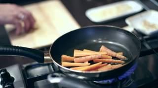 Кулинары - яйца всмятку с морковью