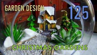 GARDEN 125 - Ogródki świąteczne w szkle. Christmas gardens in glass.
