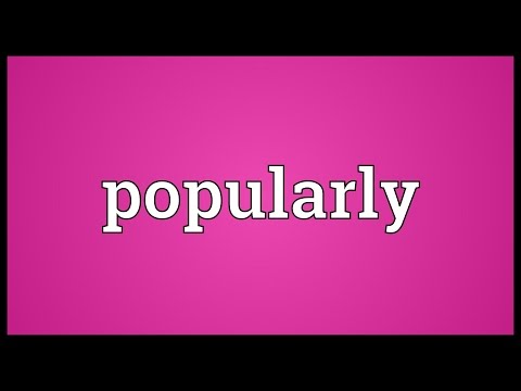 Header of popularly